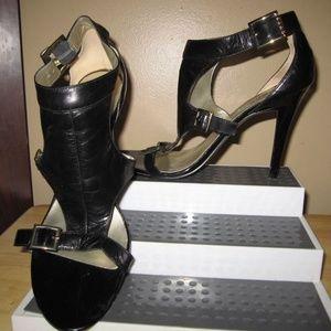 Ladies Guess High Heel Black Stilettos Sz 9.5